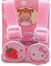 Japan Sanrio Hello Kitty Baby Bib holder clip babies feeding clips set