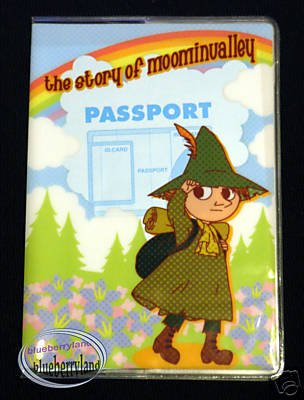 Moominvalley Snufkin Passport Holder cover