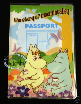 Moominvalley Moomin Snorkmaiden Passport Holder cover