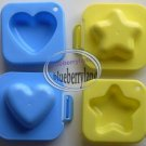 Bento Egg Mold Heart Star YUDETAMA-GOKKO accessories