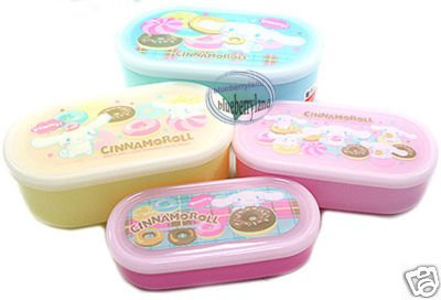 Cinnamoroll Bento Lunch Box Food Container case 4pc