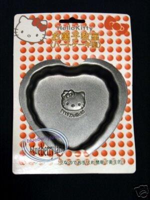 2 Pcs Sanrio HELLO KITTY Pudding MOLD Jelly Jello Mould Heart Valentine