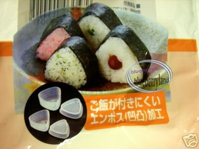 Japan Triangle Nigiri Sushi Rice Mold Maker for Bento lunchbox DIY tools Kit kitchen