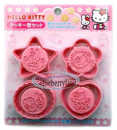 Sanrio Hello Kitty Cookie Cutter Mold Mould kit set party