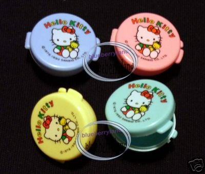 Sanrio HELLO KITTY Mayo Sauce Case Cream Pill Vitamin Box meal