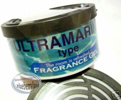Japan Ultramarine Home Car Air Freshener Fragrance Gel