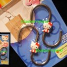 Sanrio HELLO KITTY 2 Home Kitchen Metal Hooks - 7kg each
