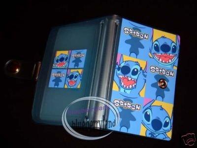Disney Stitch ID Credit Card Organizer holder blue Lilo