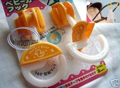 Japan Baby Stroller Pram HOOK Pushchair Hooks Carrier J x 2 Pcs
