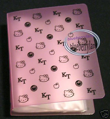 Hello Kitty ID VISA CARD holder Photo Album for 40 Pcs
