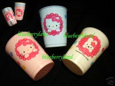 3 Pcs Sanrio Hello Kitty Children Plastic Drinking Cup
