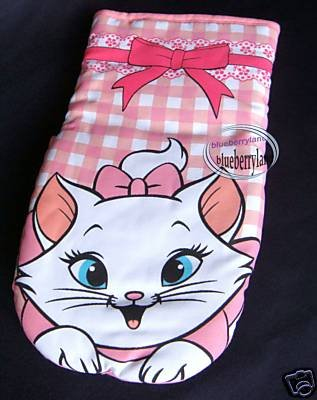 Disney Marie Fabric Oven Glove Mitt Home Kitchen Adult