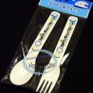 Sanrio Shinkansen Fork Spoon set Bento cutlery