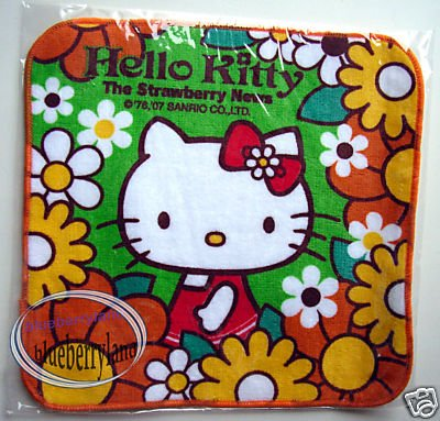 Japan Sanrio HELLO KITTY Baby Kid Hand Towel bathroom kids ladies