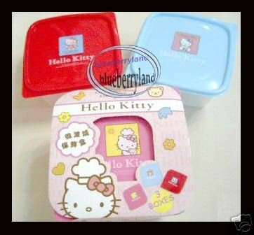 Sanrio Hello Kitty Microwave 3-in-1 Bento lunchbox Food Container