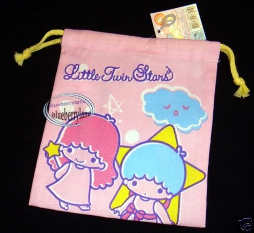 Sanrio Little Twin Stars Drawstring BAG Mixed bags DC case LR