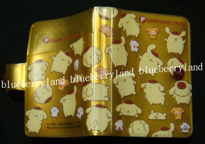 Sanrio Pompompurin ID Credit Card Organizer holder case