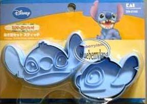 JAPAN Disney Stitch Cookie Stamp Cutter mold food mould