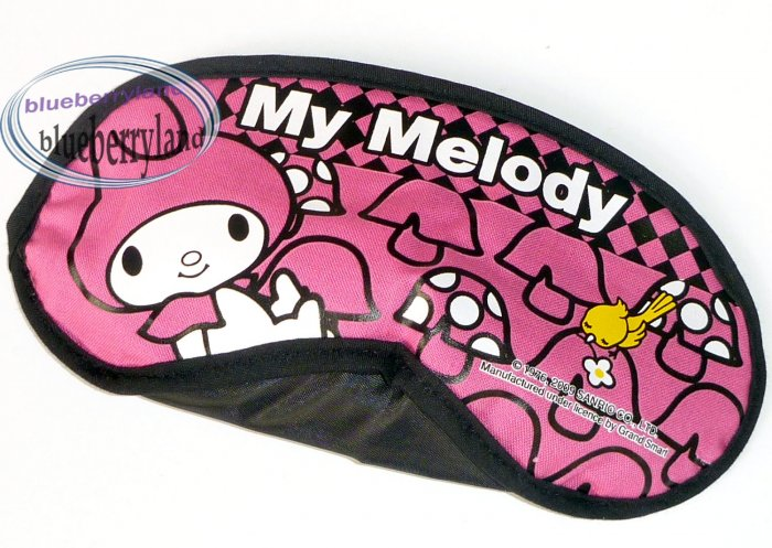 Sanrio My Melody Sleep Rest Eye Mask travel bedroom