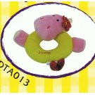 Japan Pet Dog Plush Squeaky Hippo 6.5 inches Puppy Pet Dog Toy Toys