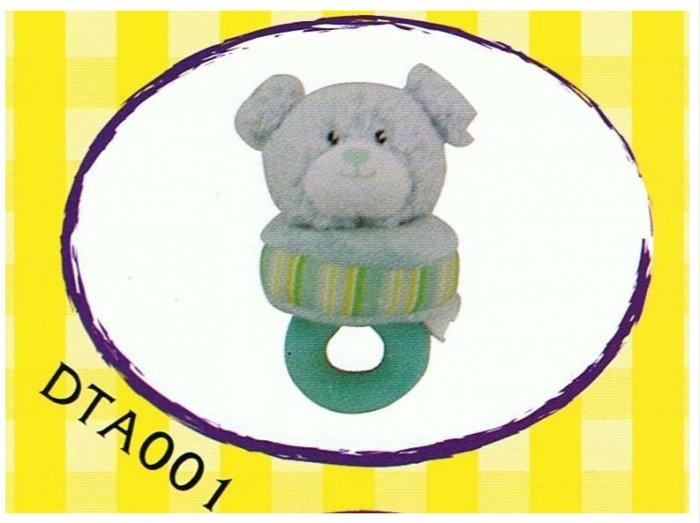 Japan Plush Squeaky Bear on Tug 6� Puppy Pet Dog Toy Toys