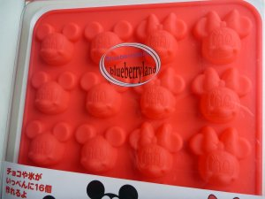 Japan Disney Mickey Mouse SILICON mold Chocolate ICE Mould