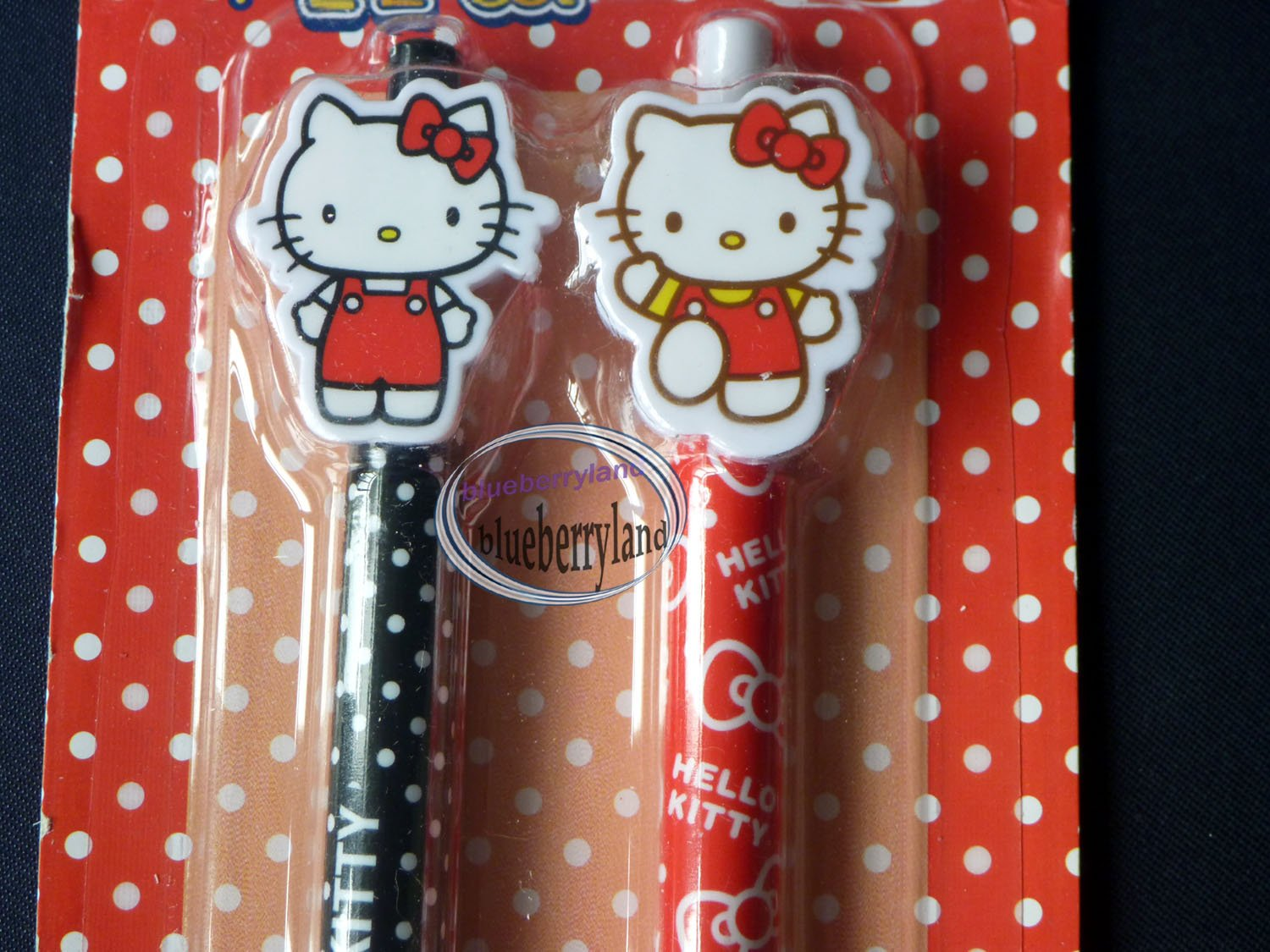 HELLO KITTY Ball Pen Mechanical Pencil set stationer R