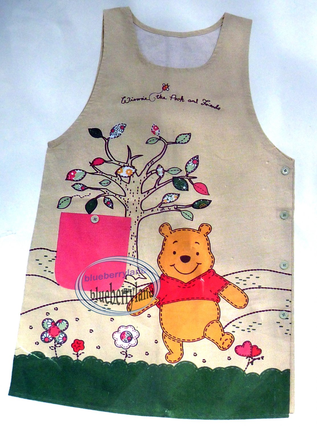 Disney Winnie the Pooh  Apron full size 91 x 53 cm Home Kitchen cooking
