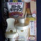 Japan Reusable Bottle Cap Cork Plug Wine Jar Sauce bottles tools 2 Pcs