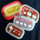 Sanrio Hello Kitty Bento Lunchbox Food Container lunch box case 4pc