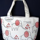School Sports Beach Weekend Tote BAG purse Handbag White