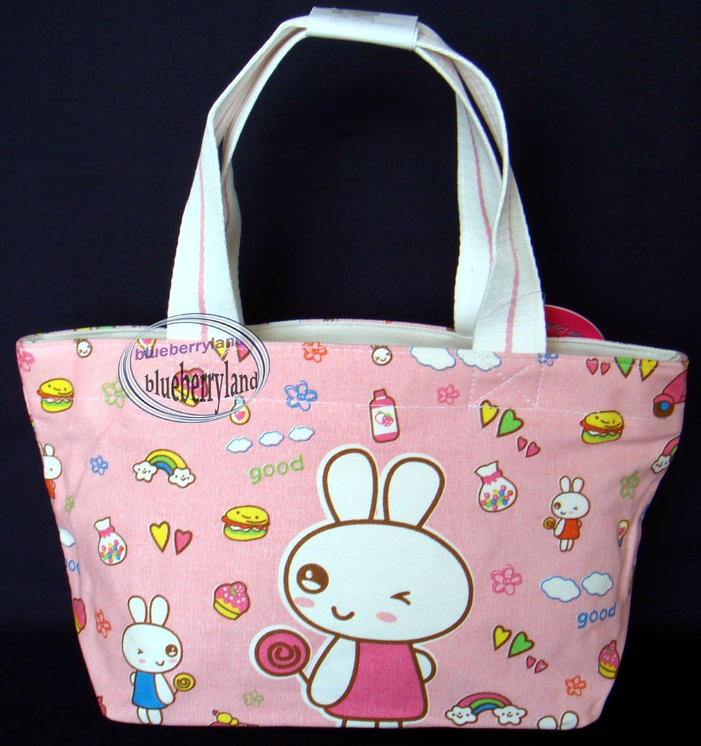 School Sports Beach Weekend Tote BAG purse Handbag Pink