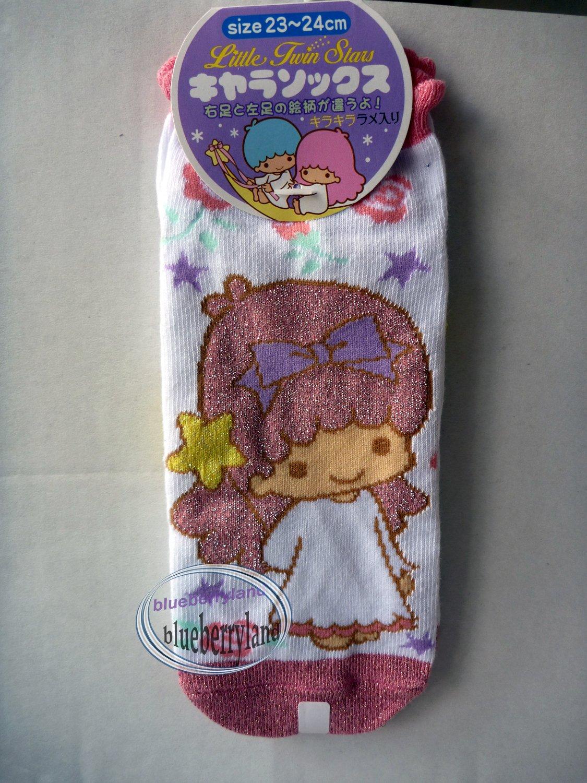 Japan Sanrio Little Twin Stars Girl Low Cut Ankle Socks