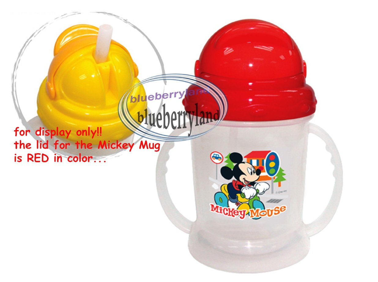 Disney MICKEY MOUSE Baby child MUG with Straw Cup 250ml kids child