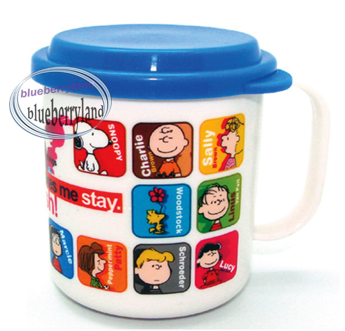 Peanuts SNOOPY Plastic Cup mug 230ml kids child