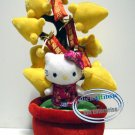Sanrio HELLO KITTY Plush New Year Decoration Plant