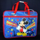 DISNEY Mickey Mouse Satchel Tote Bag Back to School Tote Bag Handbag Blue