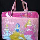 DISNEY PRINCESS Satchel Tote Bag Back to School Tote Bag Handbag girl kid Pink