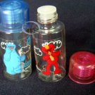 Sesame Street Elmo Cookie Monster Cosmetic Case Set