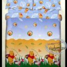 Disney Winnie the Pooh DOUBLE SIZE 54 x 75 inches Fitted Sheet Pillow case
