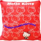 Sanrio Hello Kitty Soft Square Cushion Cuddle Bedroom Pillow Office Car Seat 40 x 40cm