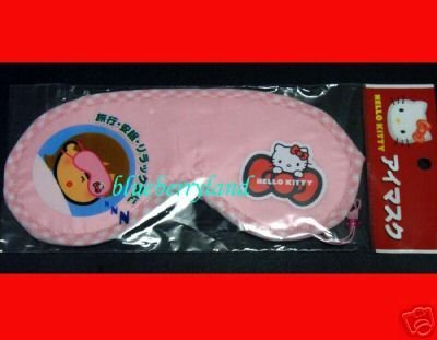 Japan Sanrio Hello Kitty Sleep Eye Mask collectible travel