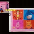 Disney Winnie The Pooh Folded Short Wallet purse children girls kids