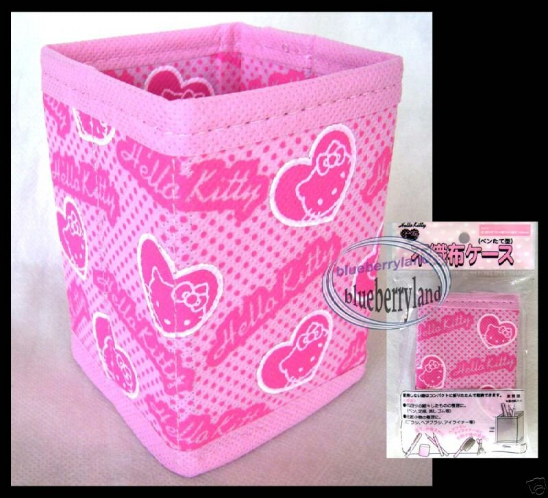 Japan Sanrio Hello Kitty Storage Box Case for accessories