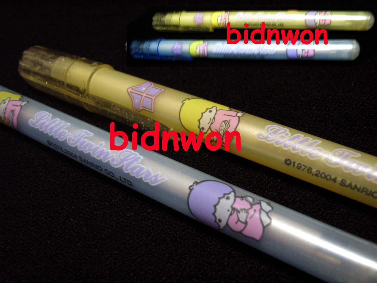 2 Pcs Sanrio Little Twin Stars Ball Pen set stationery writing Hello Kitty kids