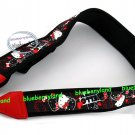 Sanrio Hello Kitty Camera Neck Strap DC strap set Black with a cleaning cloth