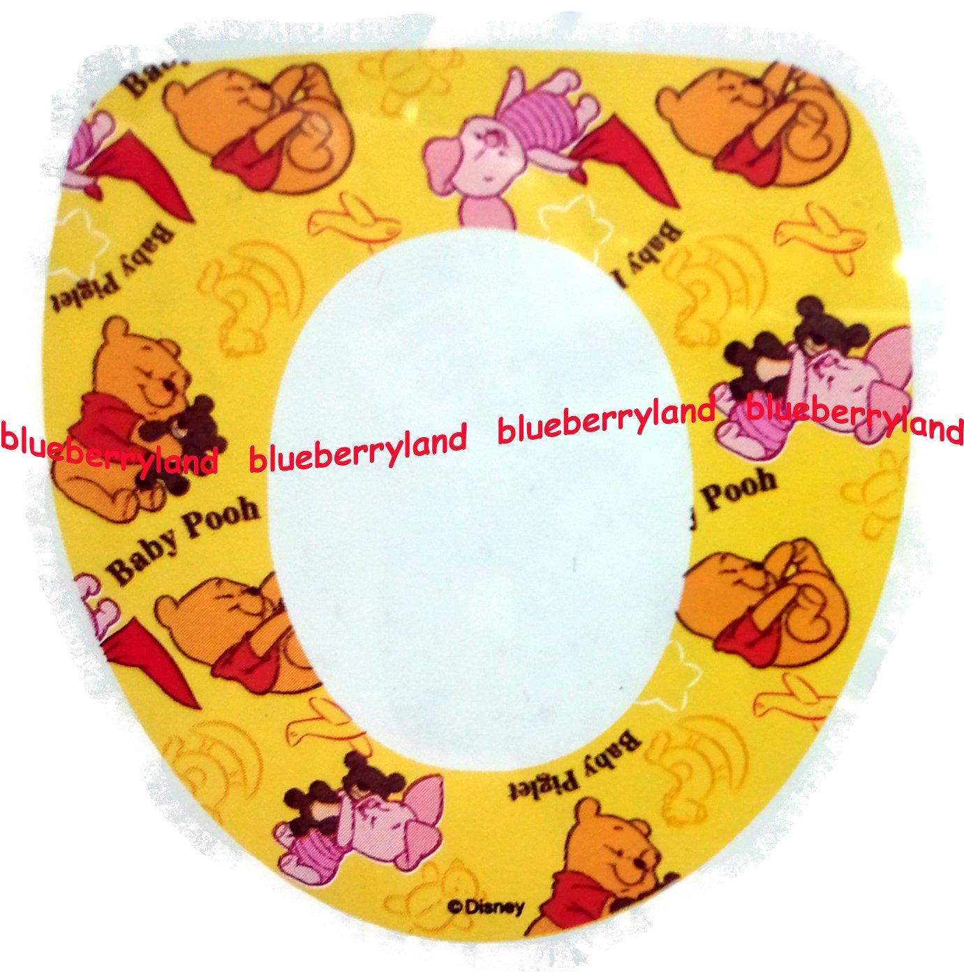Disney Winnie the Pooh Baby Padded Potty Toilet Training Seat