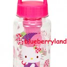 Sanrio Hello Kitty Water Bottle with Ice Tube drink Container 400ml