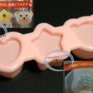 Japan Heart Bear Star Rice Mold Maker Bento MOULD party Set of 3