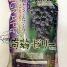 Yukiguni-aguri Grape Flavor Konnyaku Jelly 2 packs Sweet snack health ladies kid